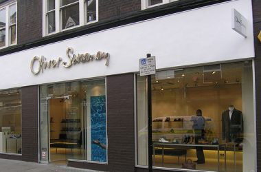 Retail Shop Fitout for Oliver Sweeney in London