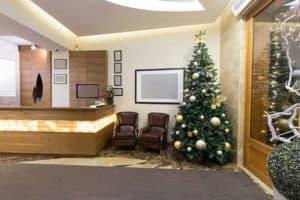 Office Refurbishment at Christmas