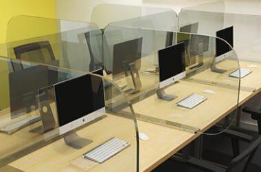 office hygiene desk dividers