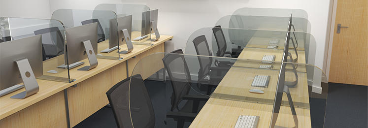 School Social Distancing Desk Dividers
